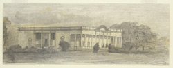 House of A. E. Russell, judge, Burdwan (Bengal). 30 October 1868